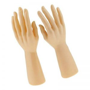 MagiDeal 1 Paire Mains de Mannequin Homme pour Affichage Bijoux Bracelet Gants Montres Présentoir de la marque MagiDeal image 0 produit