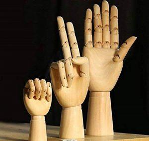 main mannequin bois TOP 8 image 0 produit