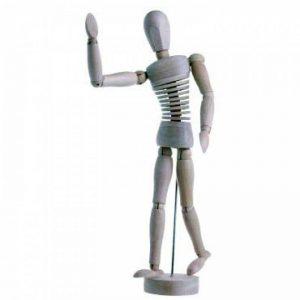 Mannequin flexible 20cm de la marque Nid'Art image 0 produit