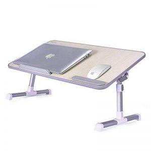 MAPUX Table Multifonctions réglable en hauteur et en angle Table réglable pour ordinateur portable Table Notebook livres table pour canapé, lit, terrasse, balcon, jardin, etc. de la marque MAPUX image 0 produit