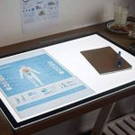 MiniSun Light-Pad LIGHTPAD. Light Box. Format A 2, A2, A-2 illuminé table lumineuse Tablette Graphique. 360 lumens 6 watt à LED rétro-éclairé (LED 6000k Lumière du Jour). Salon TATOUAGE, Photos, conception, dessin, architecte, Traçage BD, Manga, Etudiants image 3 produit