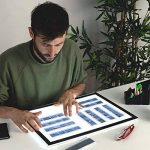 MiniSun Tablette lumineuse LED rétro-éclairé graphique ultra-plate Format A3 de la marque MiniSun image 2 produit