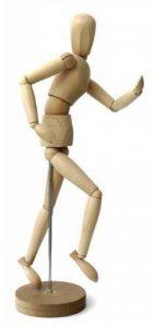 Modèle de dessin - Figurine pour dessin - Mannequin - En bois - 20cm … de la marque ESPACE BEAUX ARTS image 0 produit