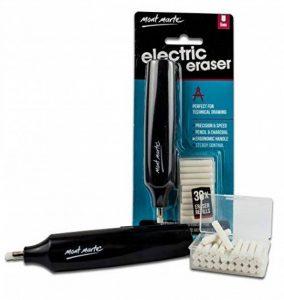 MONT MARTE Gomme électrique 30 pièces recharges gomme, piles parfait pour gommer facilement et confortablement -gomme 5 mm de la marque MONT MARTE image 0 produit