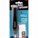 MONT MARTE Gomme électrique 30 pièces recharges gomme, piles parfait pour gommer facilement et confortablement -gomme 5 mm de la marque MONT MARTE image 2 produit