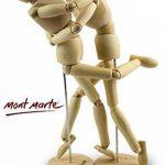 MONT MARTE Mannequin homme 30 cm dans une boite en acétate – Poupée corps, marionnette en bois, mannequin. de la marque Mont Marte image 3 produit