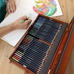 MONT MARTE Set de Crayons de Couleur Premium Deluxe - 72 pièces de crayons de couleur dans une boîte en bois - Idéal pour les dessins colorés - Parfait comme cadeau pour les Débutants, Professionnels de la marque Mont Marte image 6 produit
