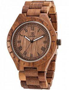 NOC Montre en bois élégante et tendance 100% bois de santal naturel de la marque HYK image 0 produit