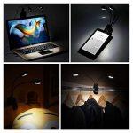 [Nouvelle Version] Portable LED Lampe de Lecture, TopElek 2*4 Led Lampe Rechargeable et Flexible, Modes de Luminosité, avec Câble USB pour Charger, Lampe de Chevet, Lumière Clip, Groupe éclairage de la marque TOPELEK image 5 produit