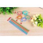 NUOLUX 50pcs Crayons à papier Flexible avec gomme de la marque NUOLUX image 1 produit