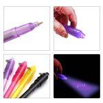 OFFICE HELPER Secrect stylos, stylo à encre invisible Magic marqueurs avec lumière UV, Lot de 7 de la marque OFFICE HELPER image 3 produit