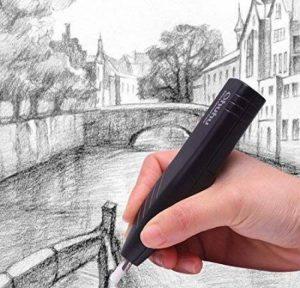 Ohuhu® Eraser électrique/ effaceurs/ Kit Gomme électrique Avec 20 Recharges/Eraser Refills et 1 Brosse de Nettoyage de la marque Ohuhu image 0 produit