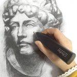 Ohuhu® Eraser électrique/ effaceurs/ Kit Gomme électrique Avec 20 Recharges/Eraser Refills et 1 Brosse de Nettoyage de la marque Ohuhu image 2 produit
