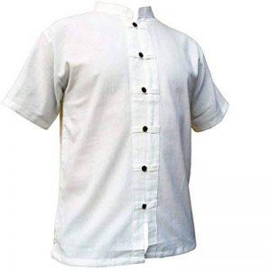 PANASIAM - Chemise casual - Loose-Fit - Manches Courtes - Homme de la marque Panasiam image 0 produit