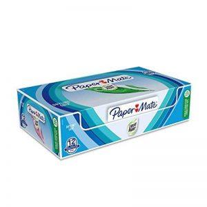 PaperMate Liquid Paper Dryline Grip Ruban Correcteur, Couleurs Assorties, Boîte de 12 de la marque Papermate image 0 produit