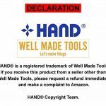 Permanent Marker, Double Side, Thin-Extra Thin Point, CD Marker, Pack of 5, Blue de la marque HAND image 2 produit