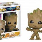 POP Guardians 2 Groot Bobblehead Figure de la marque Funko Pop! Movies: image 1 produit