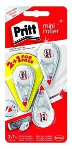 Pritt Mini Lot de 3 Rollers de correction 4,2 mm x 7 m Blanc/Transparent de la marque Pritt image 0 produit
