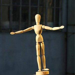 Rokoo Esquisse Nouveau Artiste Movable Membres Mâle En Bois Figure Modèle Jouets Jouets Croquis Mannequin Marionnette de la marque Rokoo image 0 produit