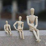 Rokoo Esquisse Nouveau Artiste Movable Membres Mâle En Bois Figure Modèle Jouets Jouets Croquis Mannequin Marionnette de la marque Rokoo image 2 produit