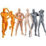 Rokoo Modèle de peinture du corps, Chan & Kun PVC Movebale2 ensembles / lumière corps action figure modèle SHF version 2.0 cadeaux de la marque Rokoo image 1 produit