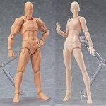 Rokoo Modèle de peinture du corps, Chan & Kun PVC Movebale2 ensembles / lumière corps action figure modèle SHF version 2.0 cadeaux de la marque Rokoo image 3 produit