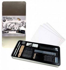 Royal & Langnickel RSET-ART2408 Set d'Art Croquis large Boîte en fer de la marque Royal & Langnickel image 0 produit