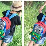 Sac à dos mignon pour enfant, Robot Sac à dos de crèche Robot Boy Animal Ropeack (vert, rose, bleu, rouge) de la marque image 1 produit