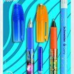 Schneider 74370 Set d'écriture avec 1 stylo à plume + 1 roller + 1 effaceur d'encre double pointe de la marque Schneider image 1 produit