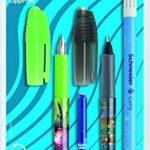 Schneider 74370 Set d'écriture avec 1 stylo à plume + 1 roller + 1 effaceur d'encre double pointe de la marque Schneider image 3 produit