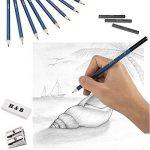 set de dessin au fusain TOP 10 image 3 produit