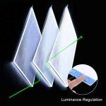 sikiwind Tablette Lumineuse LED A4 Ultra-Mince Luminosité Lumière Table Light Box avec Câble d'alimentation USB pour 5D DIY Diamant Peinture - Sketching - Artistes Dessin et Animation etc (Bleu) de la marque sikiwind image 5 produit