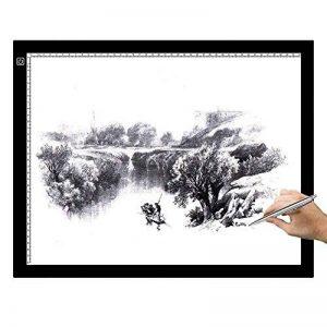 Skyblue LED Table lumineuse pour dessiner, A3 de la marque skyblue-uk image 0 produit