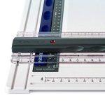 Staedtler Mars 661, planche à dessin en plastique, antichoc, indéformable et lavable, avec règle parallèle et fixe-support, 661 A3 de la marque Staedtler image 1 produit