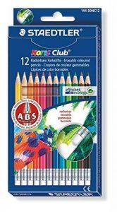 Staedtler - Noris Club 144 50 - Etui Carton 12 Crayons de Couleur Gommables Assortis de la marque Staedtler image 0 produit