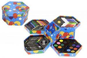 Surepromise Ensemble 52 pièces d'Art pour des artistes Set Craft Boîte à Crayons, Crayons, stylos de peinture de la marque Kreative Kids image 0 produit