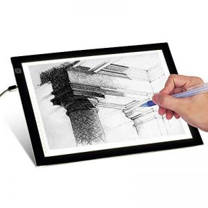 T-sun Ultra Fine intensité variable calque A4LED Light Box avec luminosité réglable Tattoo Sketch Architecture calligraphie Crafts pour artistes, dessin, Sketchin de la marque T-SUN image 0 produit