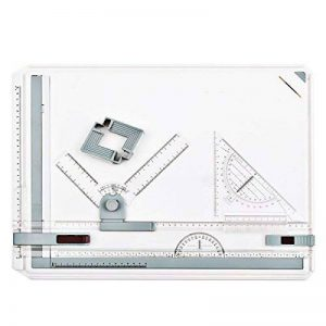 Table à dessin A3Planche à dessin Dessiner Règle parallèle pour dessins, mécanique dessin technique, architecture intérieure, jardin conception, architek Argile de conception, 51x 36,5cm de la marque Bermud image 0 produit