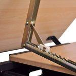 Table à dessin inclinable avec tabouret - plateau inclinable - 2 grands tiroirs - 118 x 62 x 68,5 cm -106( L x P x H) de la marque vidaXL image 2 produit