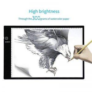 3 Niveaux De Luminosite Reglable Intelligent Touch Control Pour