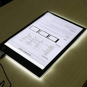 Tables lumineuses, LED Light Pad, Animation Tracer Light Box Drawing Copier Desk Protection des yeux Design A4 Touch Lightness réglable Smart pour artiste Professional Carton Make Sketch Education Design Doctor Children (Pro) de la marque MYMM image 0 produit