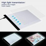 Tablette Lumineuse, A4 Light Box LED Copie Board Light Pad avec prise USB et le câble, Conseil de tatouage de traçage de dessin d'art pour des artistes, Dessin, Animation, Esquisse, Conception de la marque SAMTIAN image 1 produit