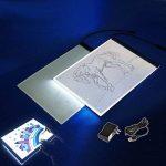 Tablette Lumineuse, A4 Ultra Mince Cable USB Lumineuse Dessin LED Copy Light Box Pour Dessiner de la marque CHBKT image 4 produit