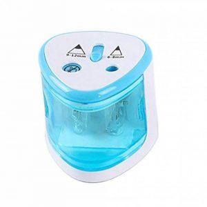 Taille-crayon électrique, taille-crayon de sécurité, 2 trou d'autres grand trou 6-8mm ou 9-12mm standard, bleu de la marque Annly image 0 produit
