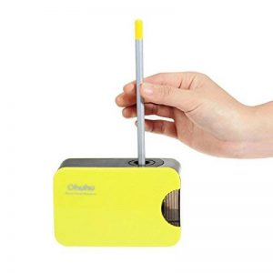 [Taille-Crayon] ohuhu® Taille-crayon/Pencil Sharpener Electrique Automatique Alimenté par USB / Batterie pour L'art Crayons de Couleur, Crayons à Sourcils ou Autres Crayons Soft-core de la marque Ohuhu image 0 produit