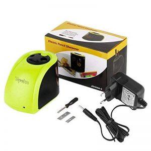 Tepoinn Batterie/2 Trous Taille-Crayon Electronique Chargé par/Batterie alimentation électrique 2 trous de taille différente Aiguiseur de la marque Tepoinn image 0 produit