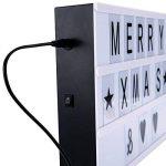 Thinp Lightbox Boîte Cinématographique Lumineuse LED Boîte à lumière format A4 Surprise pour amoureux de la marque Thinp image 4 produit