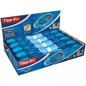 Tipp-Ex 8706142 Roller de correction avec capuchon de protection rotatif 5 mm x 8 m Lot de 10 de la marque Tipp Ex image 0 produit
