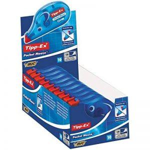 Tipp-Ex correction Rouleau souris de poche, 10 mx 4,2 mm -Display Boîte de 10 de la marque Tipp Ex image 0 produit