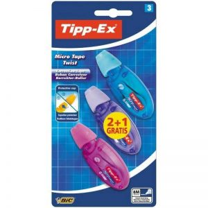 Tipp-Ex Micro Tape Twist Ruban Correcteur 2+1 Gratuit de la marque Tipp Ex image 0 produit